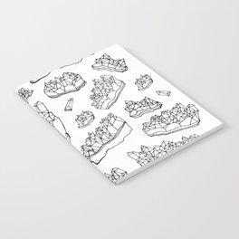 White Amethyst Notebook