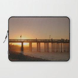 Ventura Pier at Sunet Laptop Sleeve