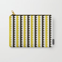 Geometric Pattern #189 (mustard) Carry-All Pouch