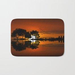 Guitarscape Sunset Bath Mat
