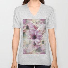 Spring Daisies Unisex V-Neck