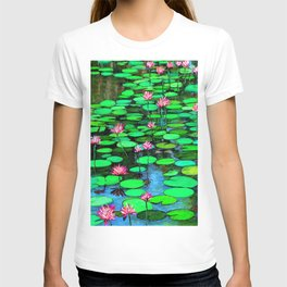Homage to Ponds, Lilies and Lily Pads T-shirt