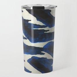 Blue Print Travel Mug