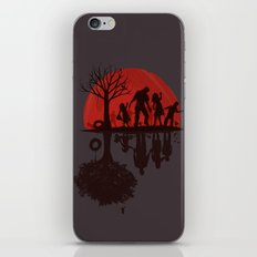A Family Once (dark version) iPhone Skin