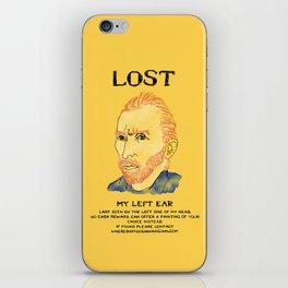 Where did it Gogh? iPhone Skin