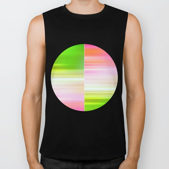 The Sound of Light and Color II Biker Tank