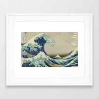 lost in translation Framed Art Prints featuring Lost in Translation by ArikaDoe