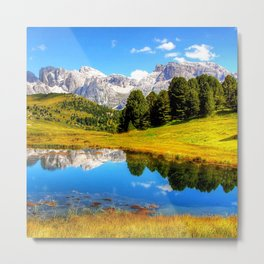 mountain_landscape Metal Print