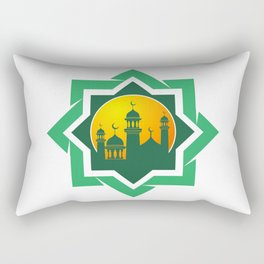 Symbol of Muslim Rectangular Pillow