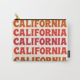 Stylin' - 70's retro throwback cali socal 1970s style art decor minimalist Carry-All Pouch