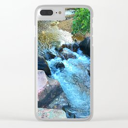 Fantasy is a part of reality Clear iPhone Case