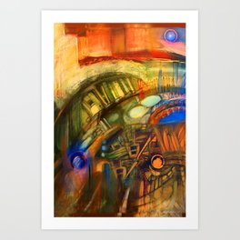 Zero Point Field V Art Print