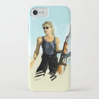 terminator iPhone & iPod Cases featuring TERMINATOR by Bernardo Furlanetto
