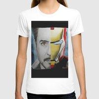 tony stark T-shirts featuring Tony Stark by Goolpia
