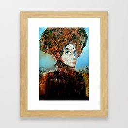 Dama Cosmopolita Framed Art Print