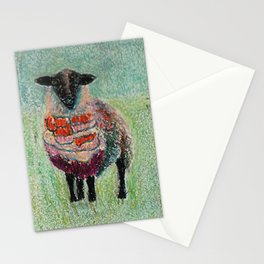 Orange Wool Stationery Cards
