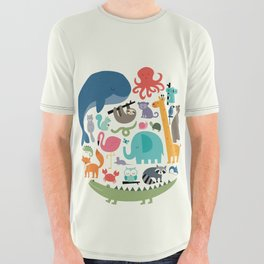 We Are One All Over Graphic Tee