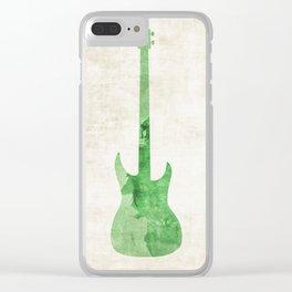 Green Bass Clear iPhone Case