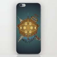 bioshock iPhone & iPod Skins featuring Bioshock tribute by Javier Robles