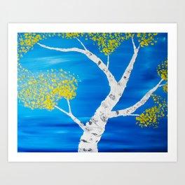Aspen Swirl Art Print