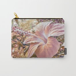 Fantasy Colors Hibiscus Flower Digital Photography Carry-All Pouch