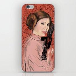 Princess Leia from StarWars iPhone Skin