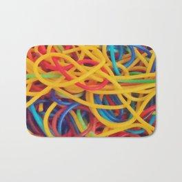 Untitled Spaghetti Bath Mat