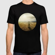 Acknowledging The Day MEDIUM Black Mens Fitted Tee