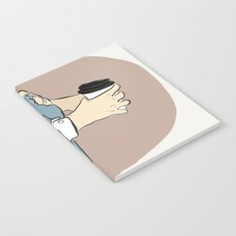 Fashion Latte To Go Notebook