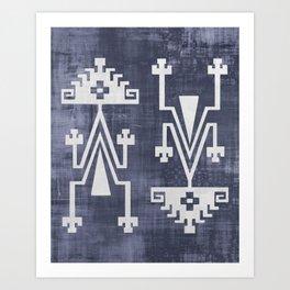 Chilean Tribal Art Print