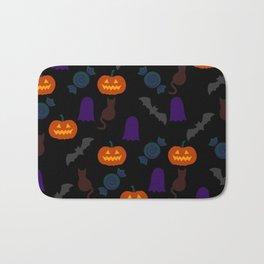 Halloween Pattern BK Bath Mat