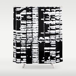 Heavenly Harmonica Shower Curtain