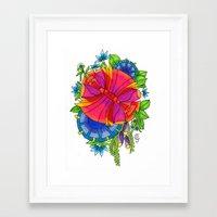 chelsea Framed Art Prints featuring Chelsea by Phoebe Jayne