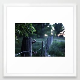 Domingo en el campo - Sunday at the countryside Framed Art Print