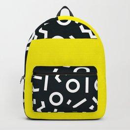 Memphis pattern 51 Backpack