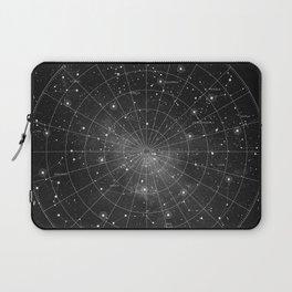 Constellation Star Map (B&W) Laptop Sleeve