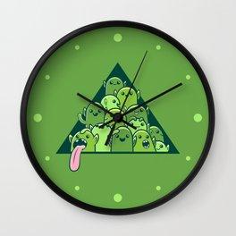 Itty-bitty Goblin Hoard Wall Clock