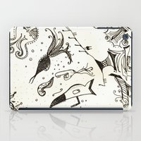 submarine iPad Cases featuring submarine by Mariana Beldi