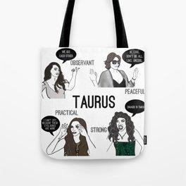 Taurus- Bravostrology Series Tote Bag