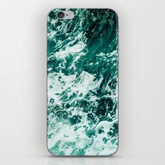 Wild sea II iPhone & iPod Skin