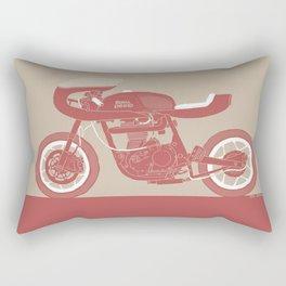 royal enfield special Rectangular Pillow