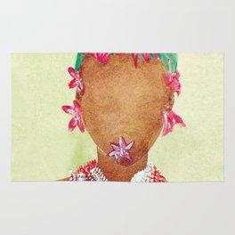 Lilium woman Rug