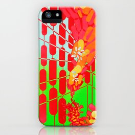 popping pills iPhone Case