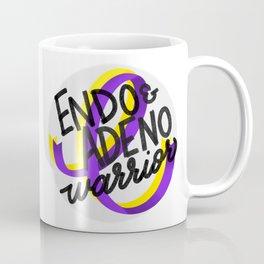 ENDO & ADENO Warrior - Endometriosis & Adenomyosis Awareness Art - Advocate Coffee Mug