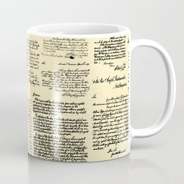 George Washington's Letters // Paper Coffee Mug