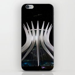 The Cathedral of Brasilia iPhone Skin