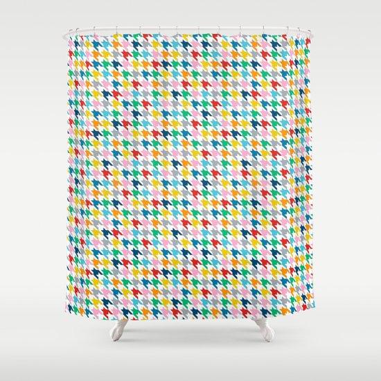 Puppytooth #2 Shower Curtain
