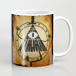 Bill Cipher Papyrus Coffee Mug