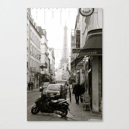Back street glimpses Canvas Print
