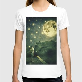 rooftops mystery night T-shirt
